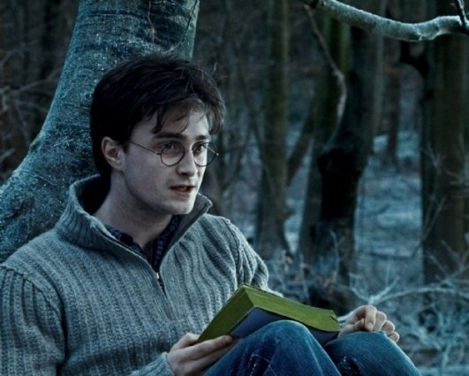 DANIEL RADCLIFFE as Harry Potter in Warner Bros. Pictures' 'Harry Potter and the Deathly Hallows - Part 1'