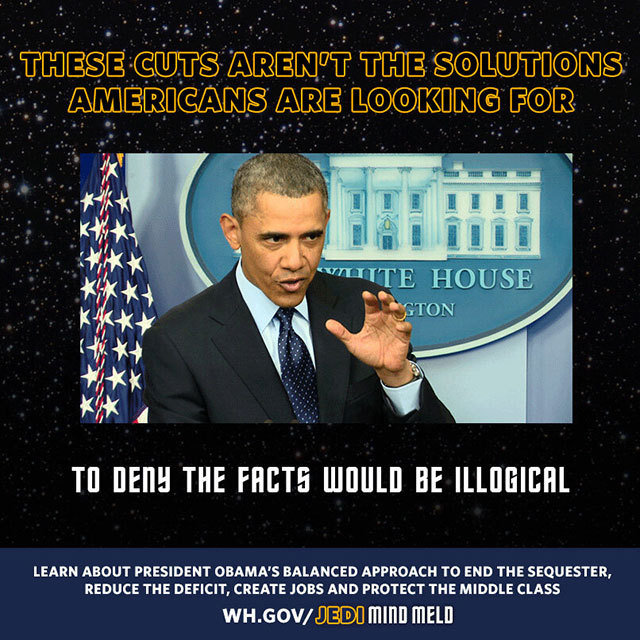 President Obama Uses Jedi Mind Meld on Congressional Republicans