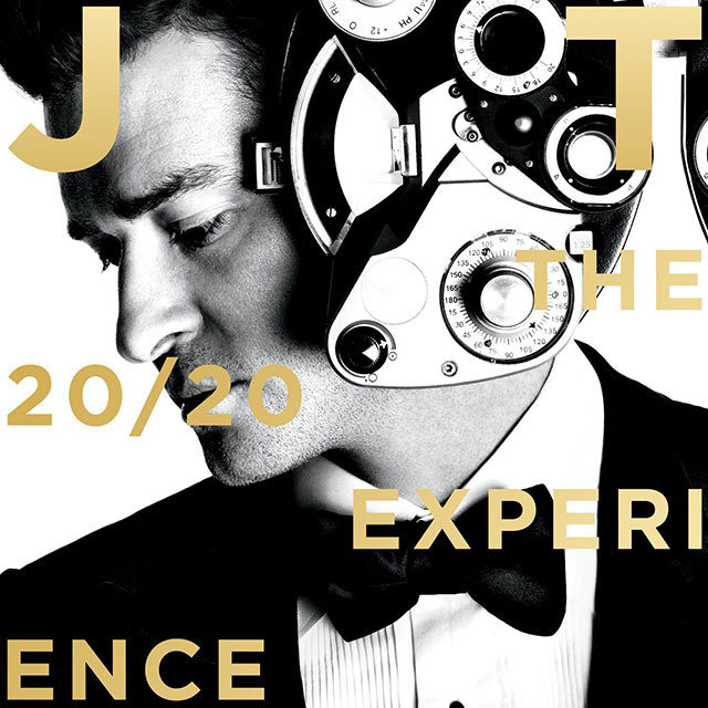 Justin Timberlake 'The 20/20 Experience' Vinyl album cover