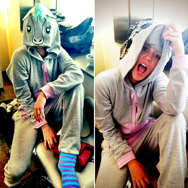 Miley Cyrus Unicorn Onesie