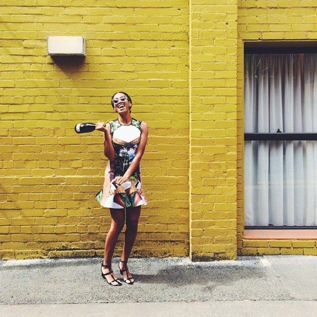 Solange, Instagram