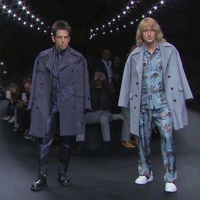 Ben Stiller, Owen Wilson, Fashion Week, Zoolander