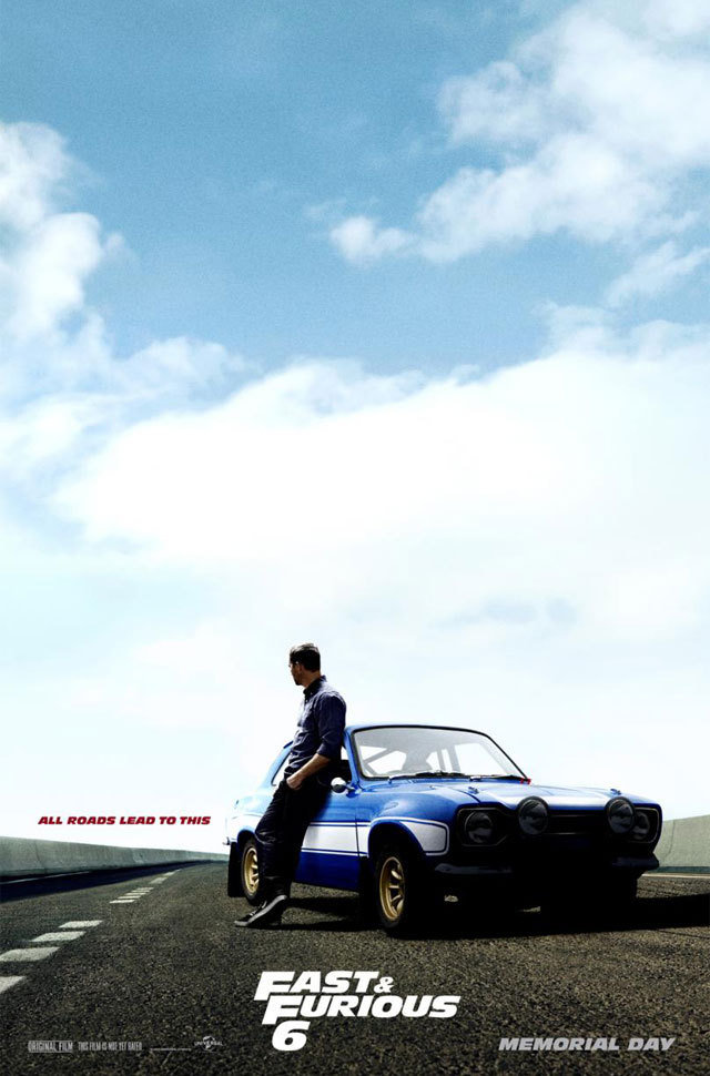 Fast & Furious 6 Poster Paul Walker