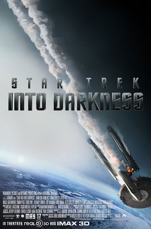 Star Trek Into Darkness Poster: Is This The End of the Enterprise?