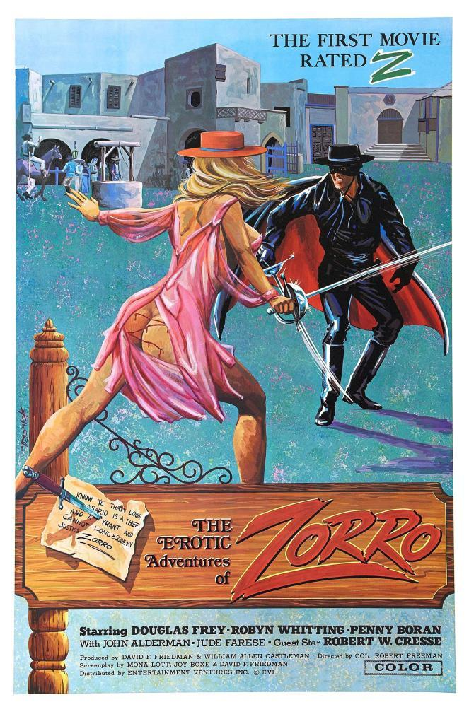 The erotic adventures of zorro 1996
