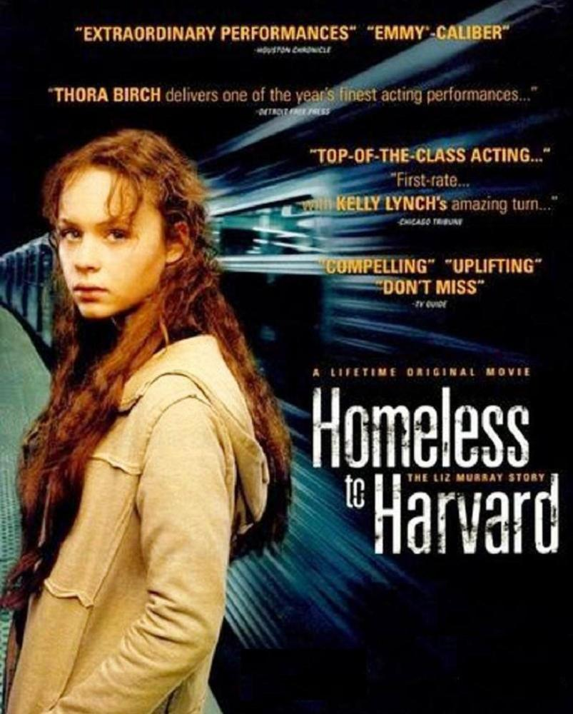 Image result for homeless to harvard