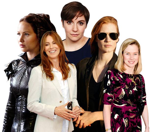 Women in 2012, Kathryn Bigelow, Lena Dunham, Marissa Mayer