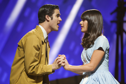 The First Time West Side Story Tony and Maria Glee