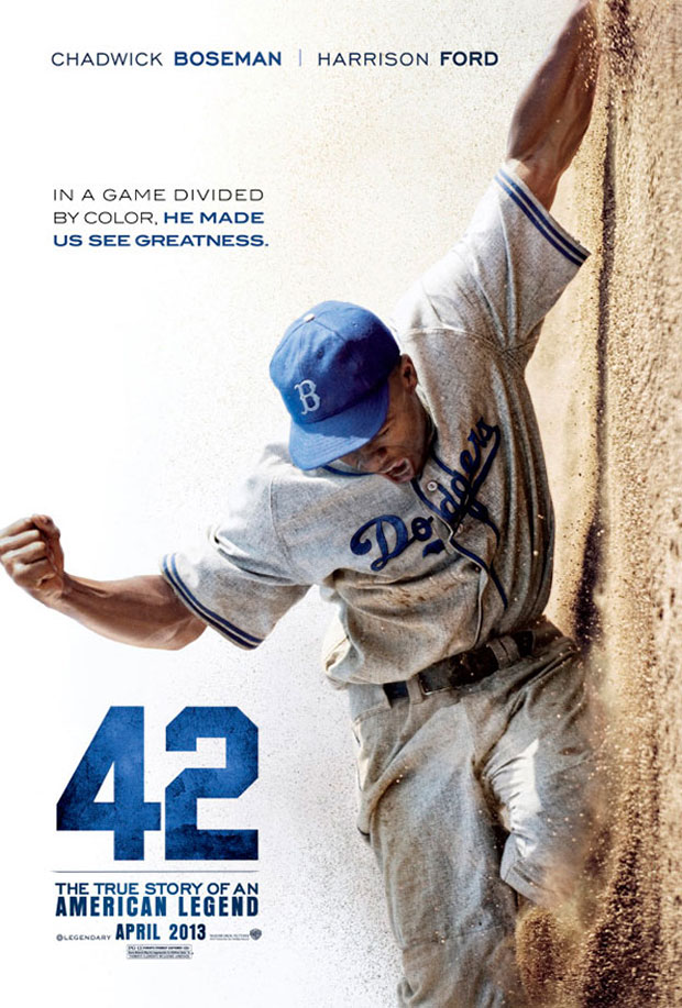 42 poster Jackie Robinson