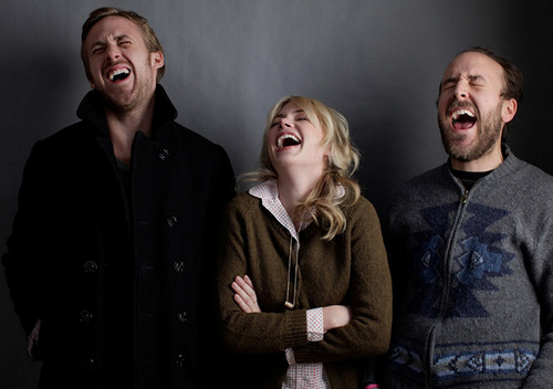 Derek Cianfrance, Michelle Williams and Ryan Gosling