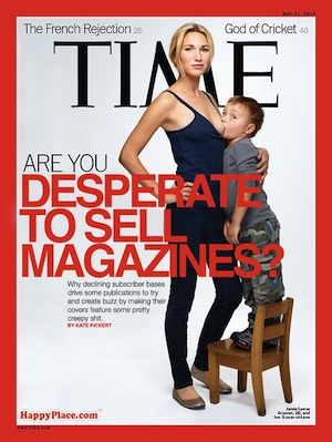 breastfeeding cover time magazine
