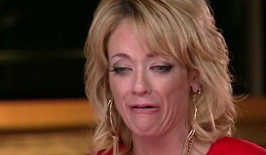 Lisa Robin Kelly GMA Crying