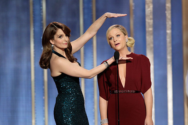 Tina Fey and Amy Poehler Golden Globes 2013