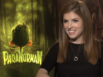 Anna Kendrick Paranorman Interview
