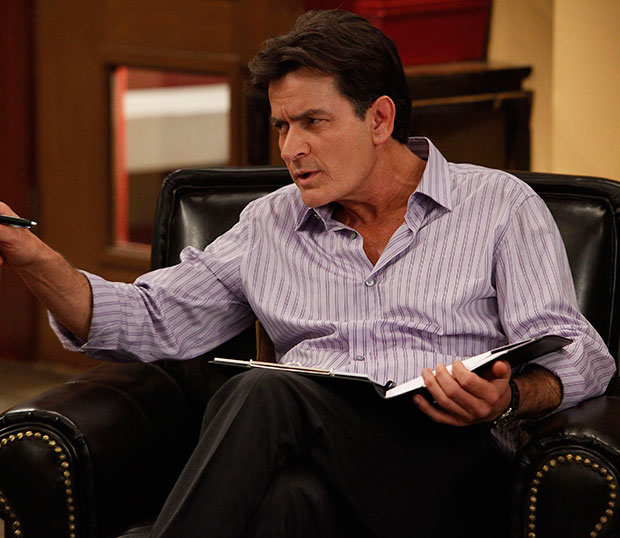 Charlie Sheen in 'Anger Management'