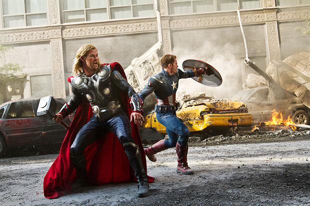 Avengers best of 2012