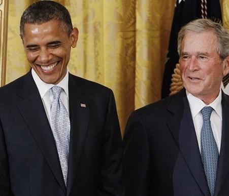 Barack Obama George Bush