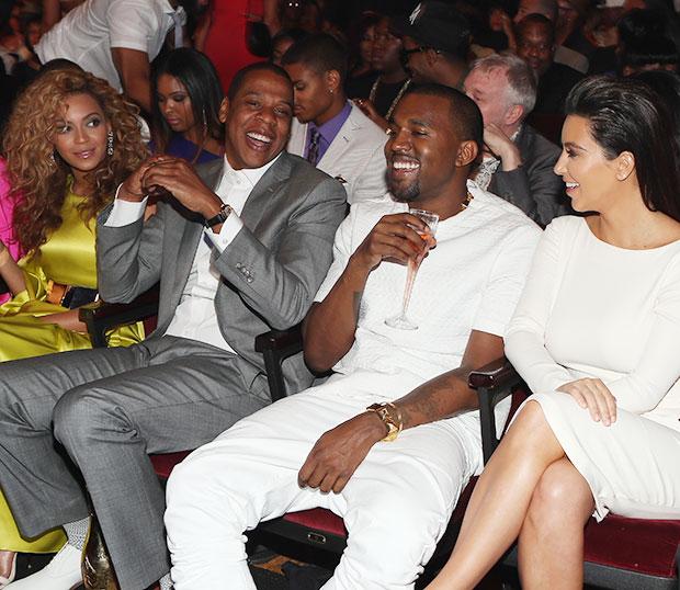 Beyonce Jay Z Kim Kardashian Kanye West
