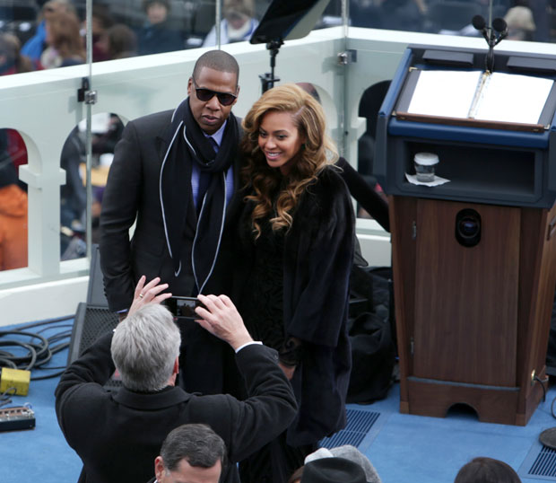beyonce jay-z inauguration