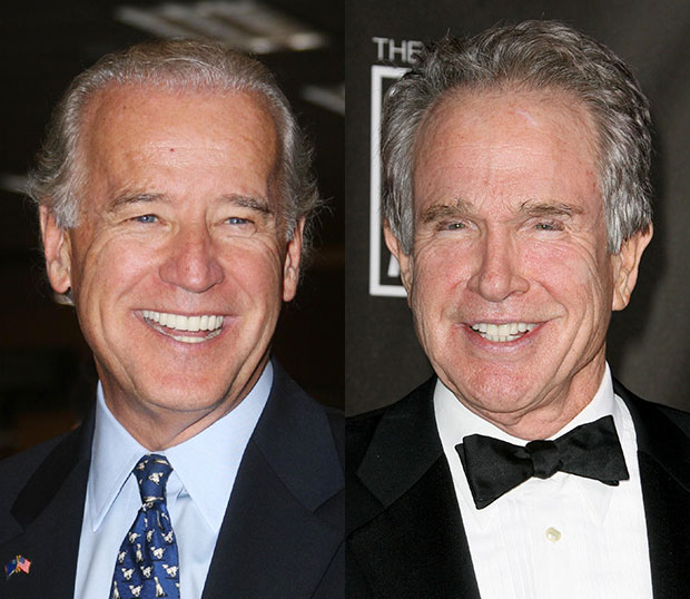 Joe Biden/Warren Beatty