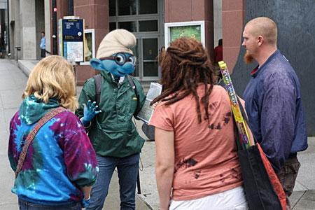 Brainy Smurf Greenpeace