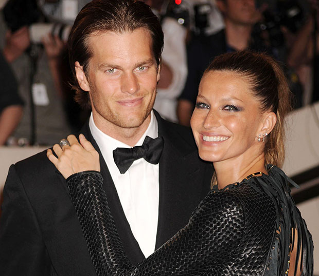For that Gisele bundchen tom brady