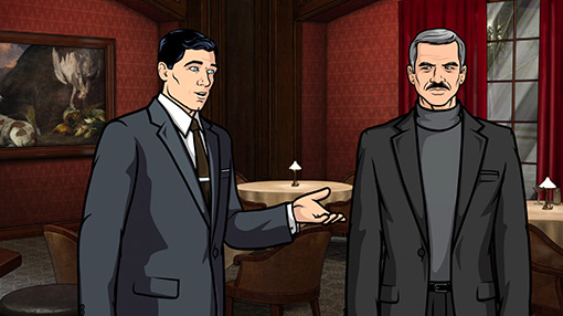 Archer with Burt Reynolds Season 3