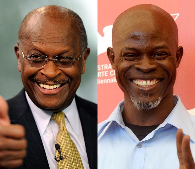 Herman Cain/Djimon Honsou