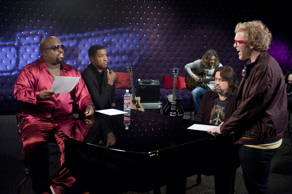 Cee Lo Mentor The Voice