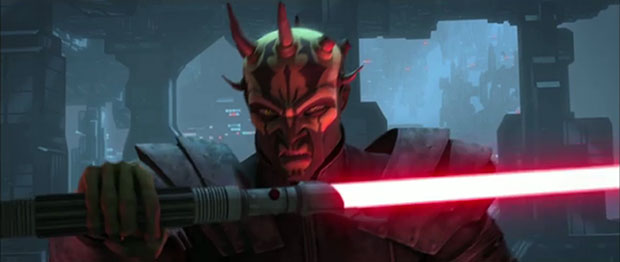 Star Wars The Clone Wars Exclusive Clip, Savage Opress Attacks Mandalore