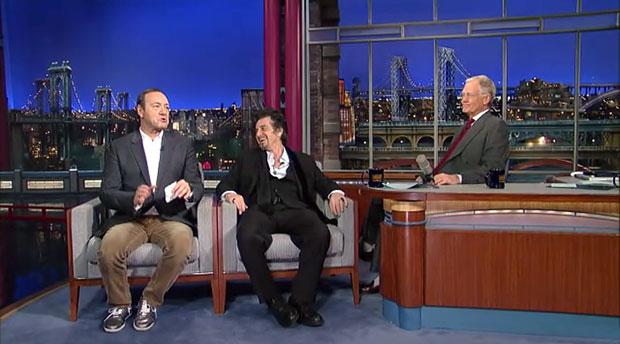 Al Pacino Kevin Spacey