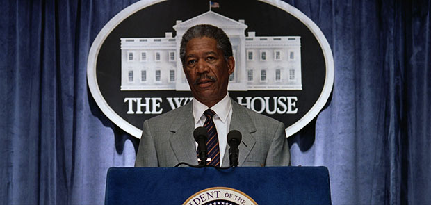 morgan freeman president