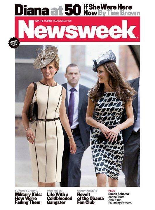 princess diana newsweek