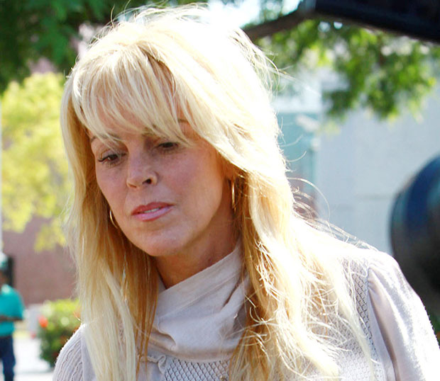Dina Lohan abuse