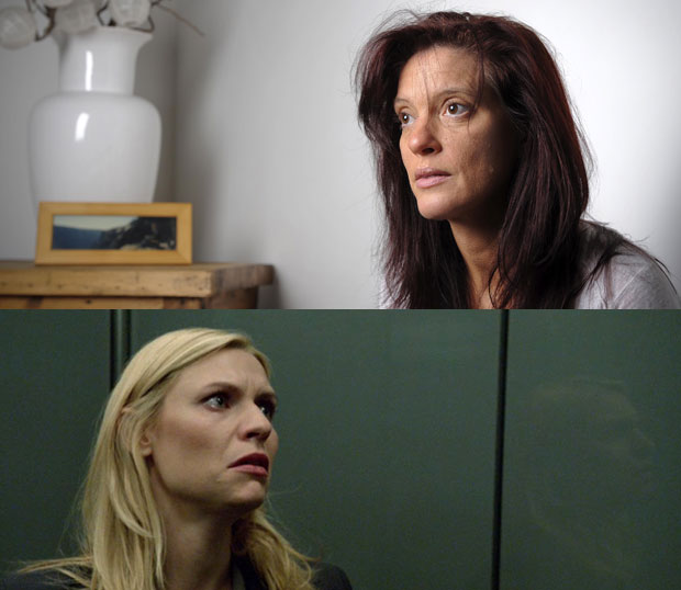 Emma O'Reilly Carrie Mathison Homeland
