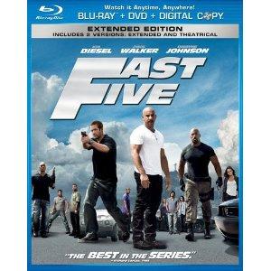 Fast Five Blu