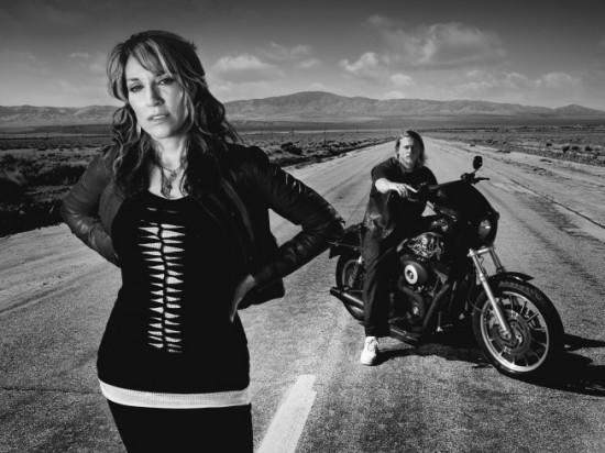 Gemma and Jax Sons of Anarchy