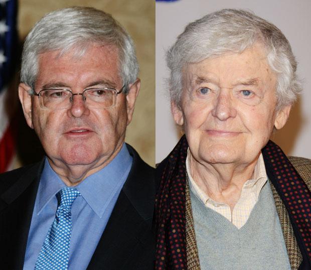 Newt Gingrich/Hal Holbrook
