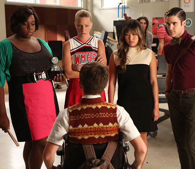 Glee Call Me Maybe Season 4