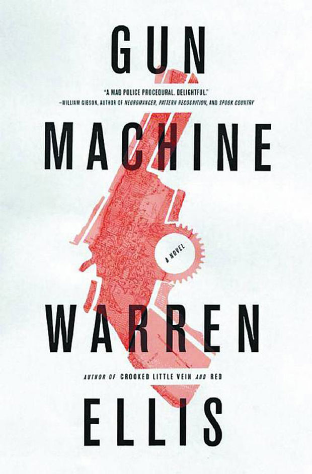 warren ellis gun machine novel