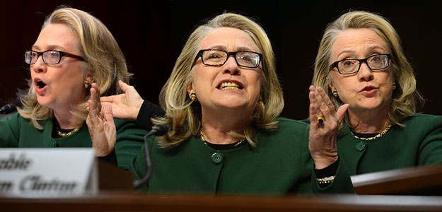 hillary clinton angry at benghazi hearing