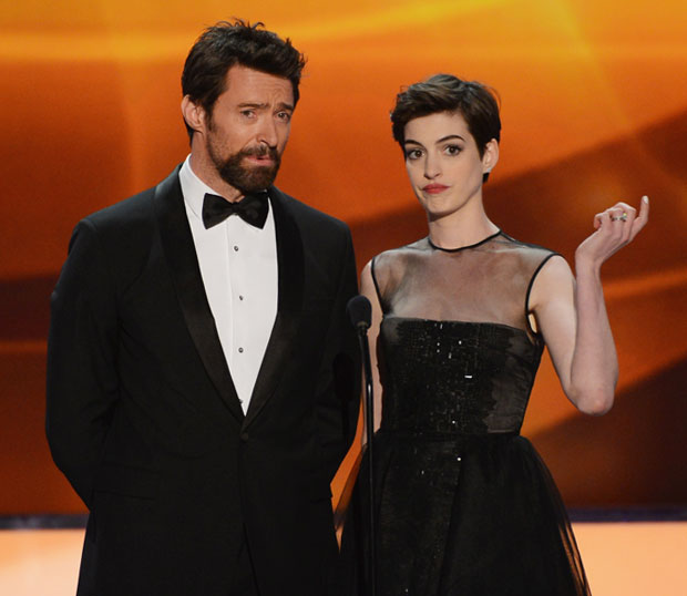 Hugh Jackman and Anne Hathaway Delivered 10 of the Best Quotes at the SAG Awards