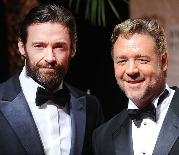 Les Miserables - Hugh Jackman, Russell Crowe