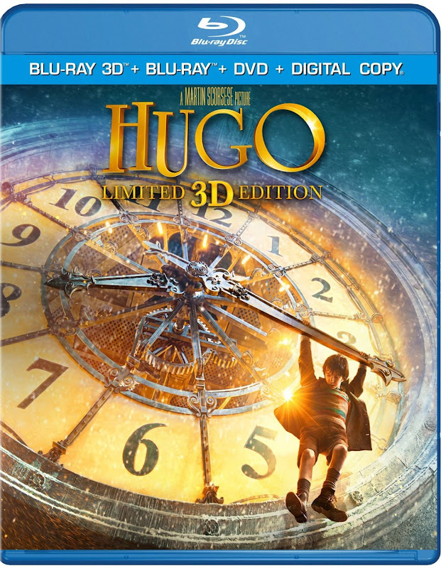 Hugo Blu-ray Box Art