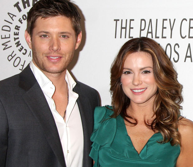 Supernatural Jensen Ackles Wife Jensen Ackles And Wife Danneel