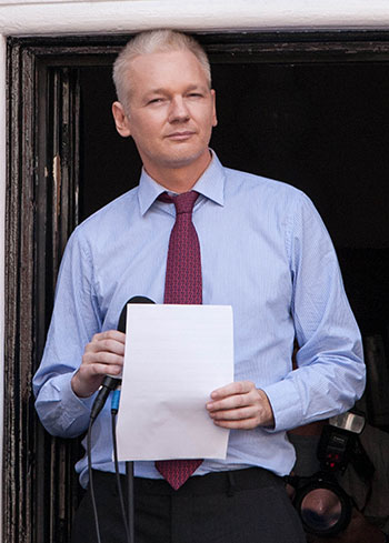 Julian Assange gets leaked WikiLeaks movie script