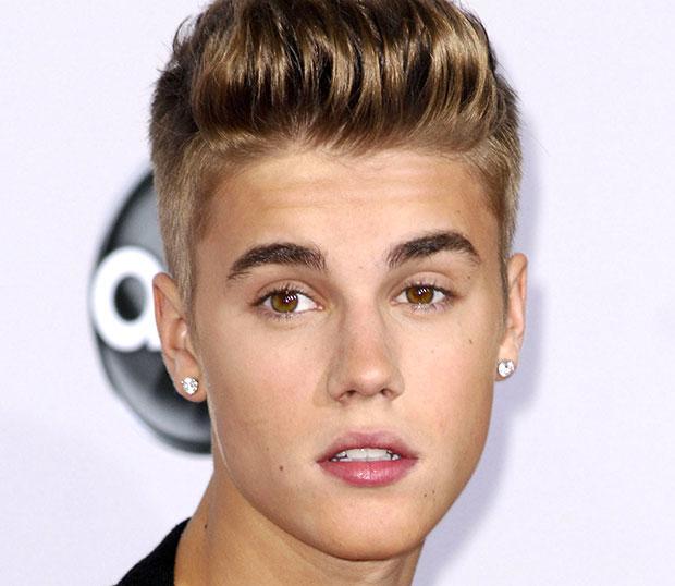 Justin Bieber cutting