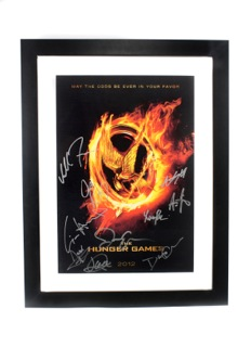 Hunger Games Lithograph