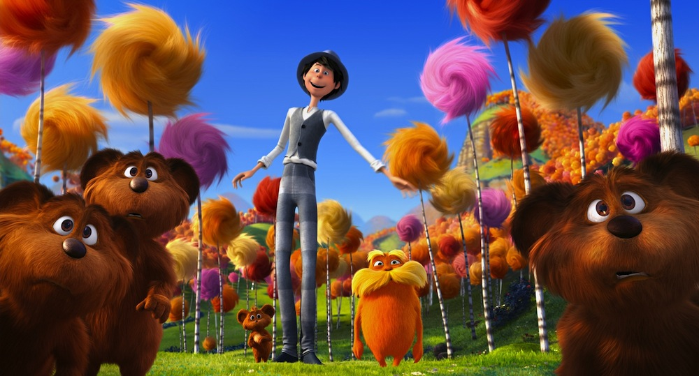 New Stills and Cast Photos From Dr. Seuss' 'The Lorax'