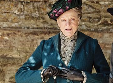 Maggie Smith Downton Abbey